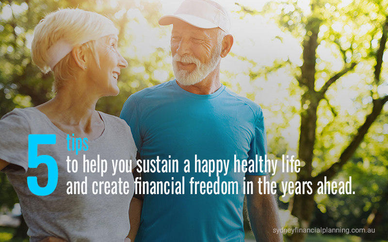 Tips for happy, healthy aging