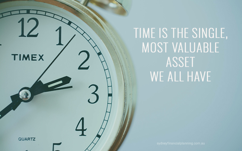 Time the most valuable asset