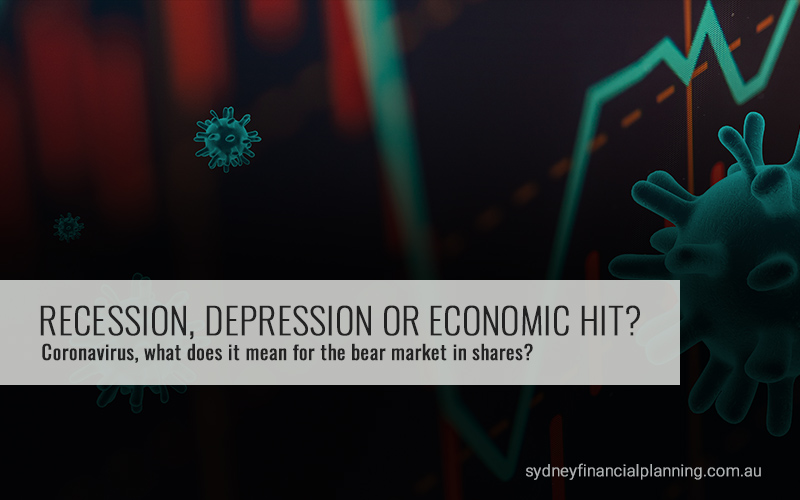 Coronavirus - Recession, Depression or Economic Hit?