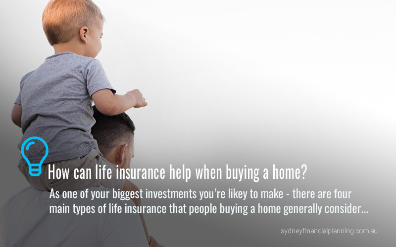 How life insurance can help when buying a home