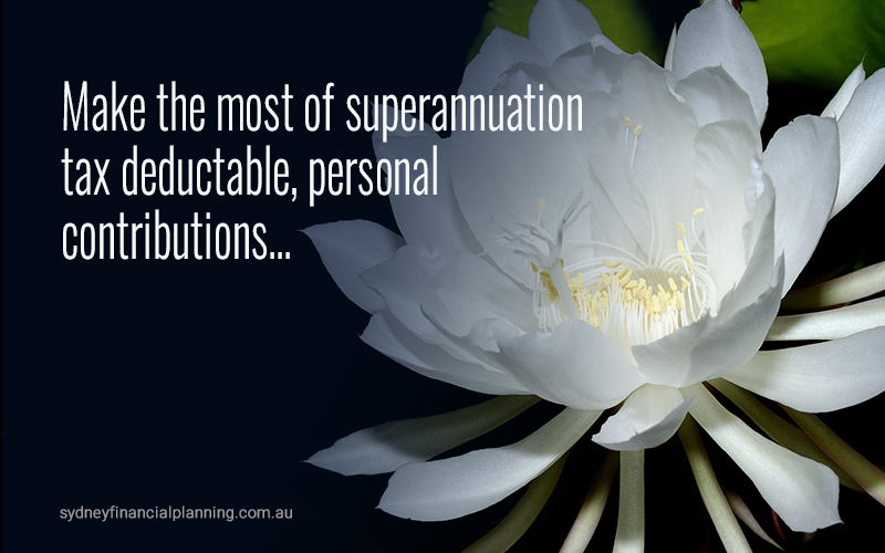 Make the most of superannuation tax benefits