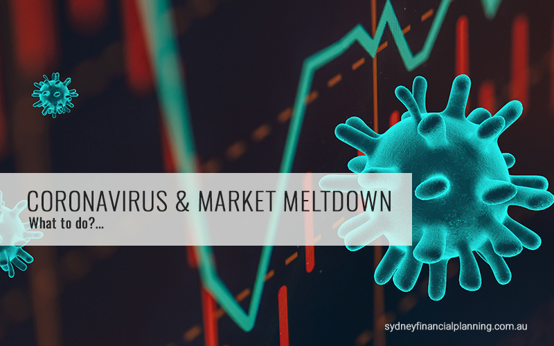 Coronavirus and Financial Markets Melt Down
