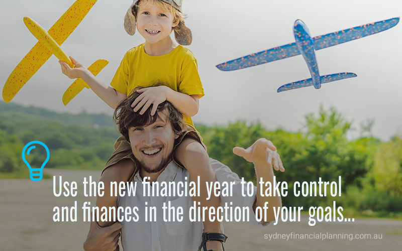 New year financial goals