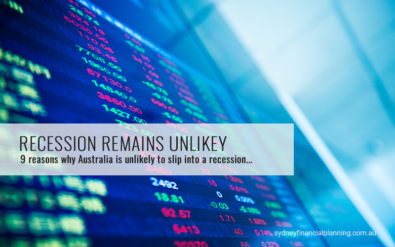 Nine reasons why recession remains unlikely in Australia